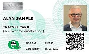Example CSCS Card